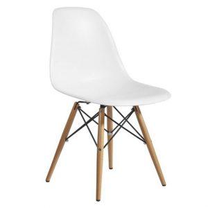 Skandynawskie krzeslo silla dsv białe