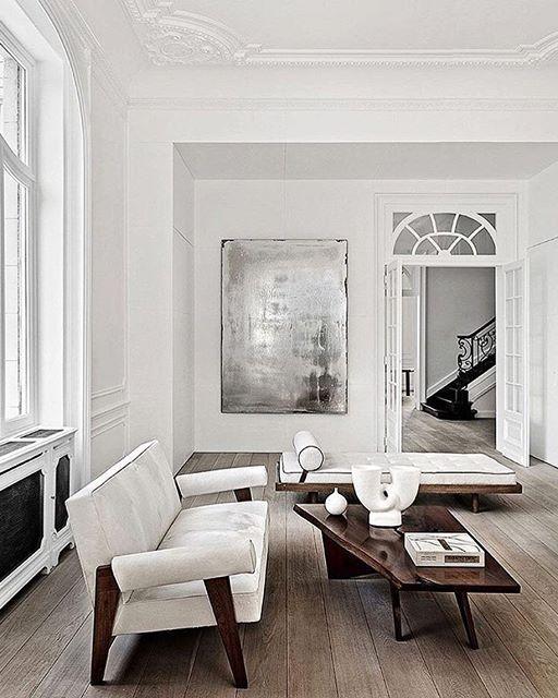 Modernistyczno francuski salon