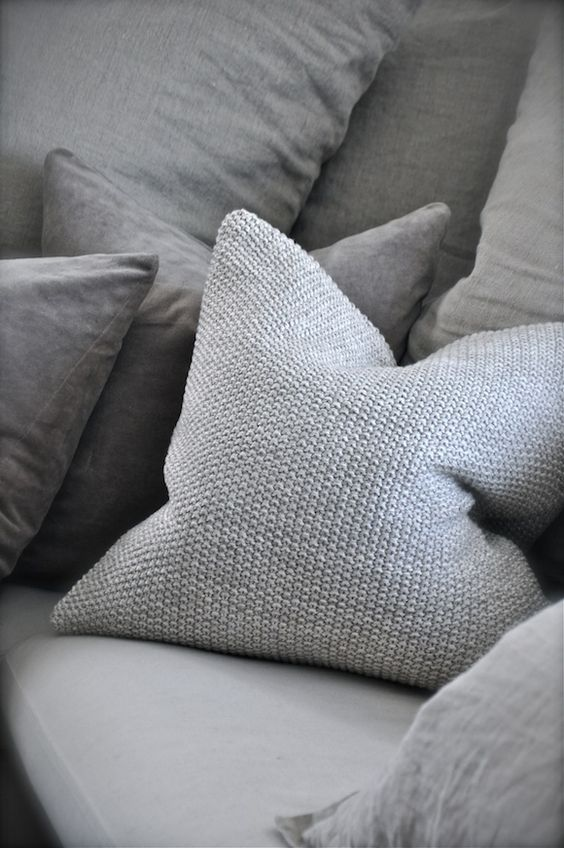 Poduszki szare