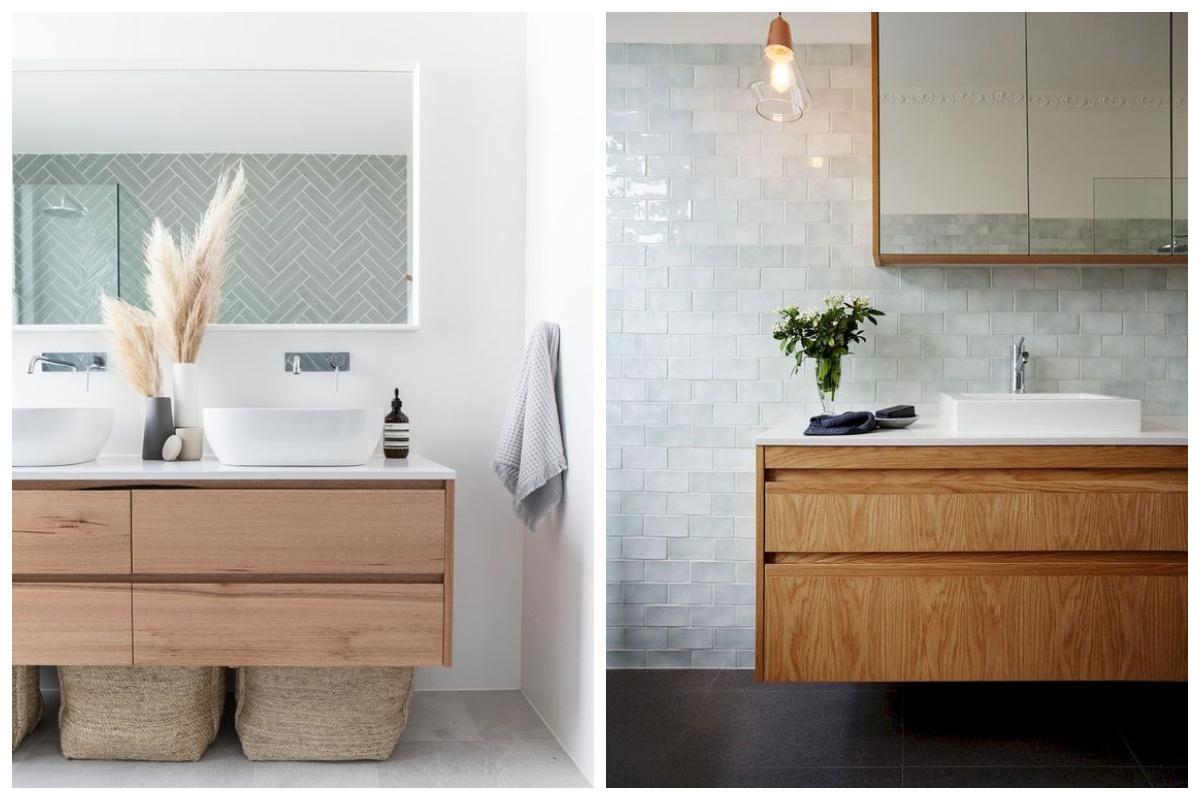 Drewniane blaty łazienkowe