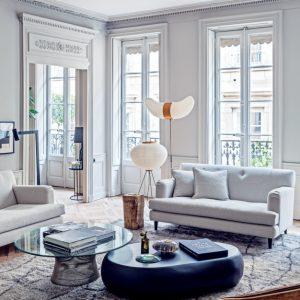 Salon francuski - blog o wnętrzach