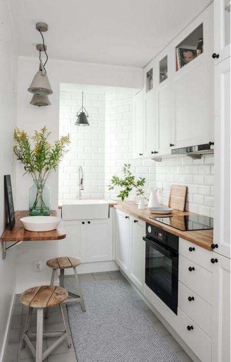 Aranżacja kuchni w stylu skandynawskim