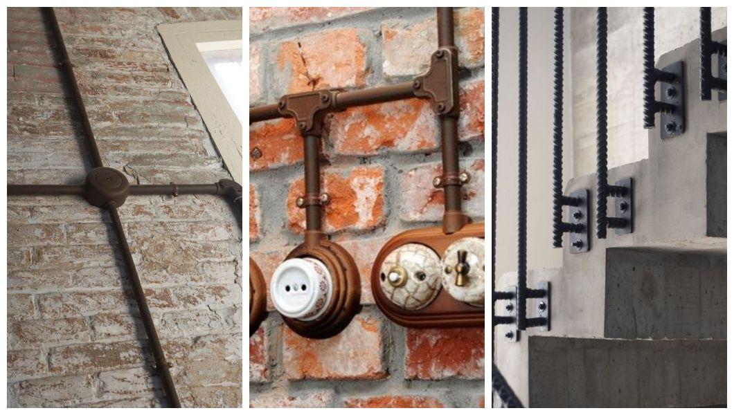 Dekoracje industrialne