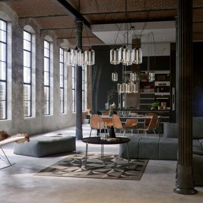 Industrialne wnętrza – historia i cechy stylu industrialnego