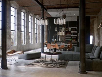 Industrialne wnętrza - historia i cechy stylu industrialnego