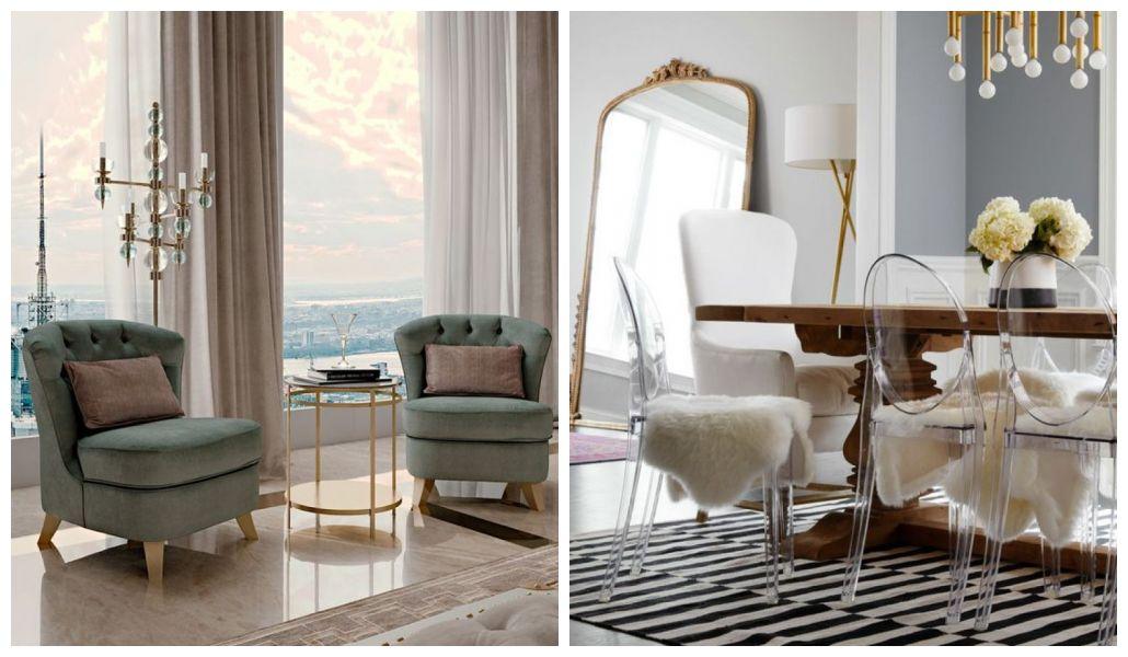 Nowoczesny styl glamour mieszkania