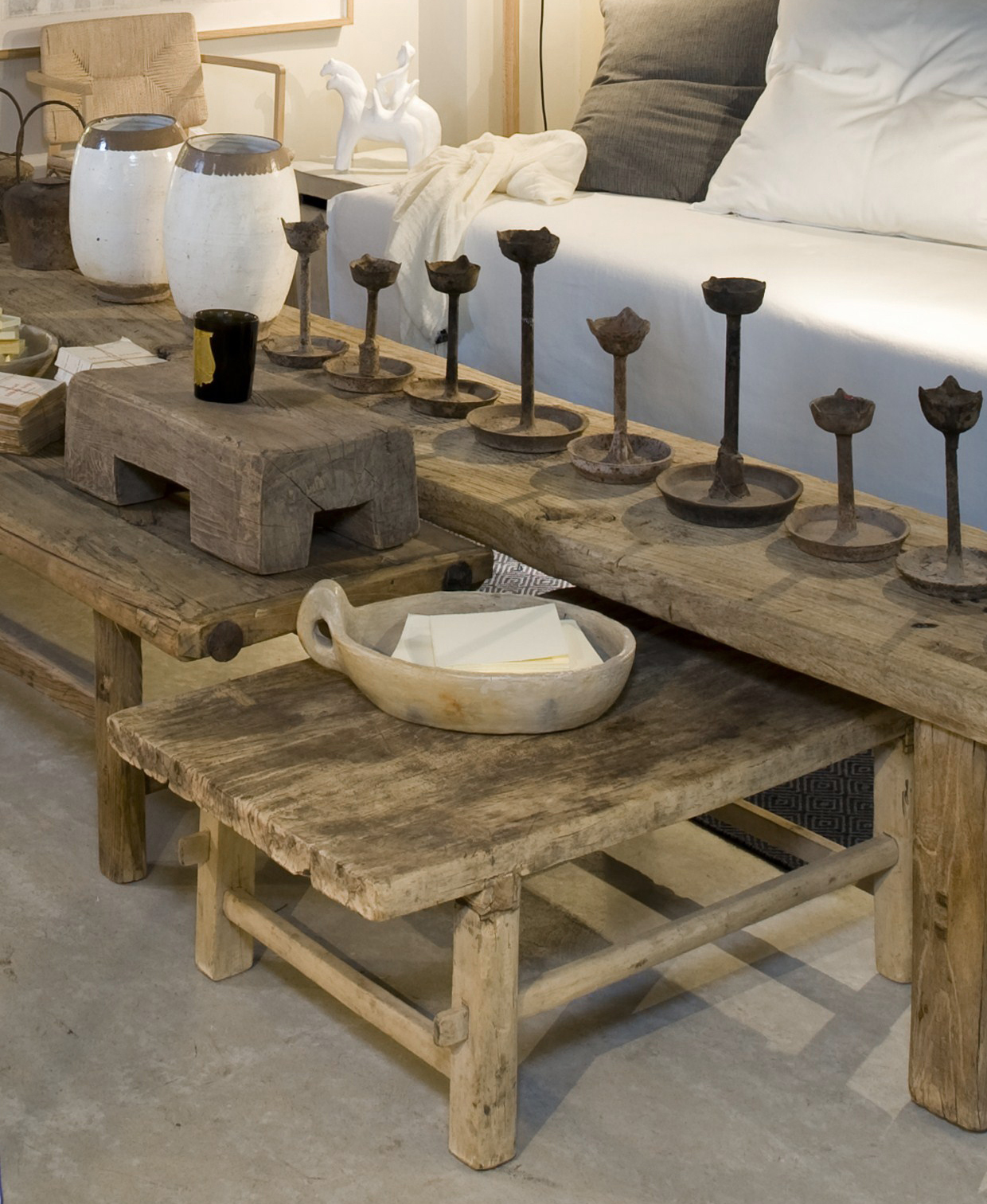 Rustykalny stół od Maison Hand