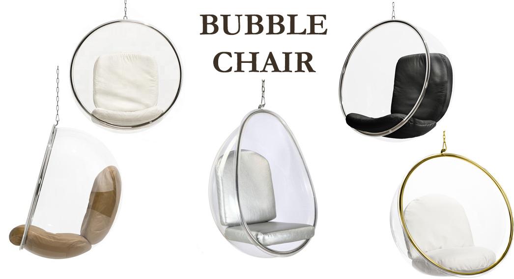 Huśtawka szklana Bubble Chair