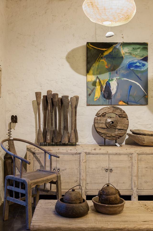 Figurki dekoracyjne z drewna