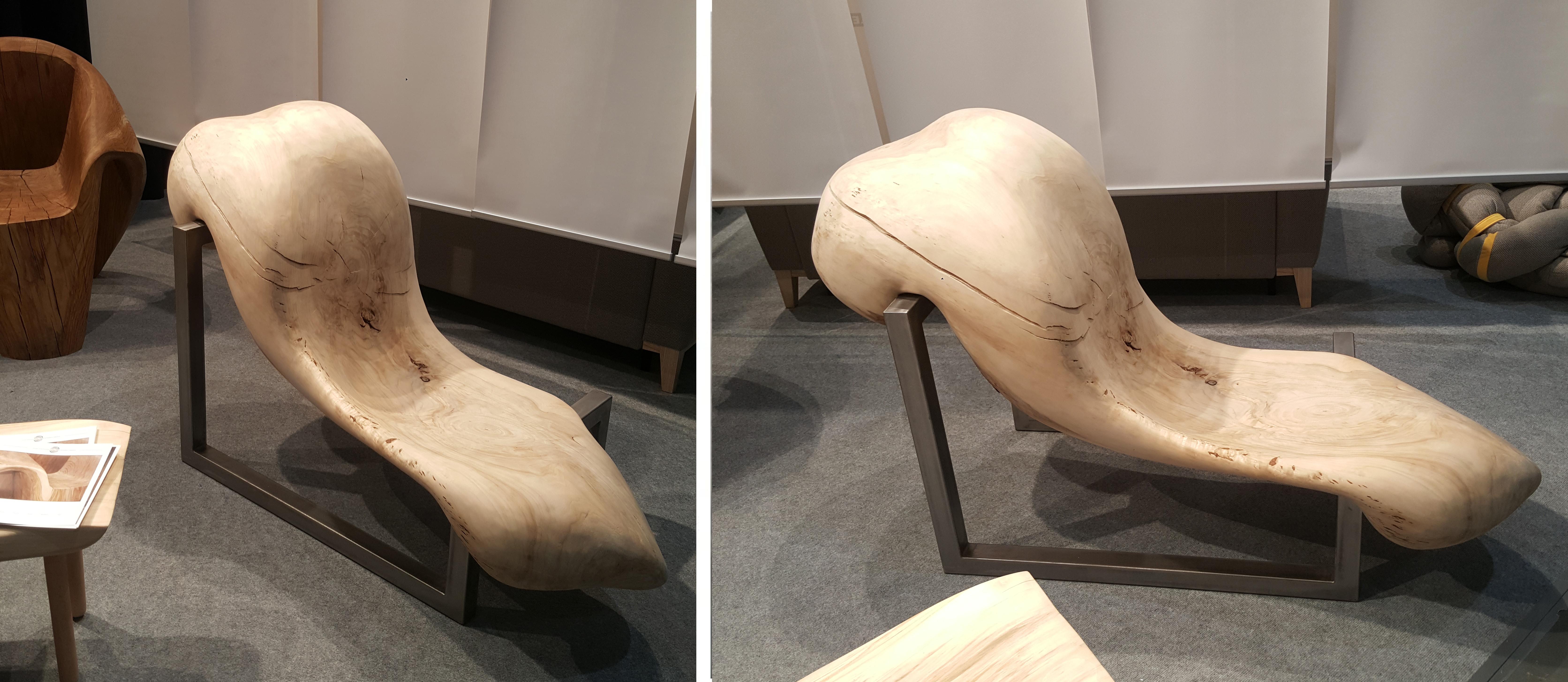 Organiczny fotel z drewna Dobroteka