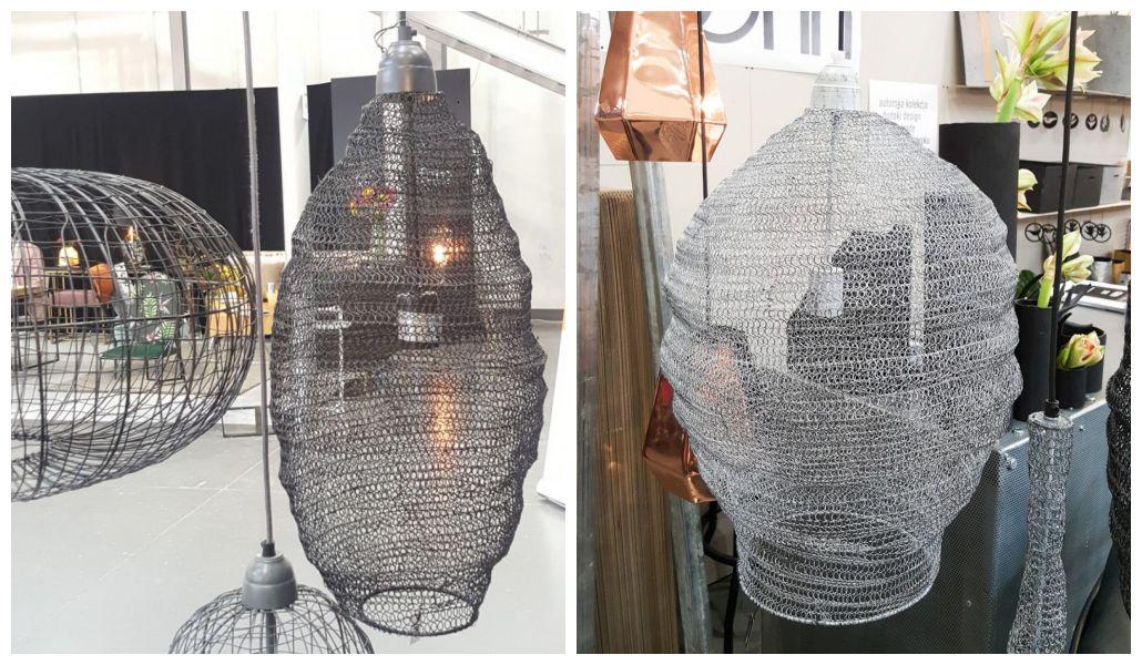 Lampy z drutu planB
