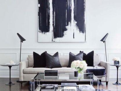 Sztuka współczesna we wnętrzach – malarstwo abstrakcyjne i minimalistyczne