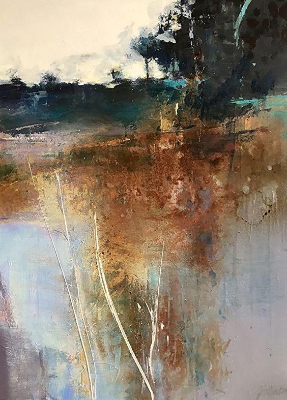 Obraz abstrakcja krajobraz