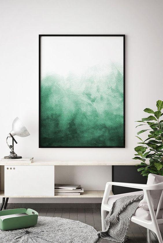 Color field painting obrazy abstrakcje nowoczesne