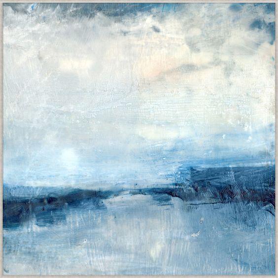 Morze obraz abstrakcyjny
