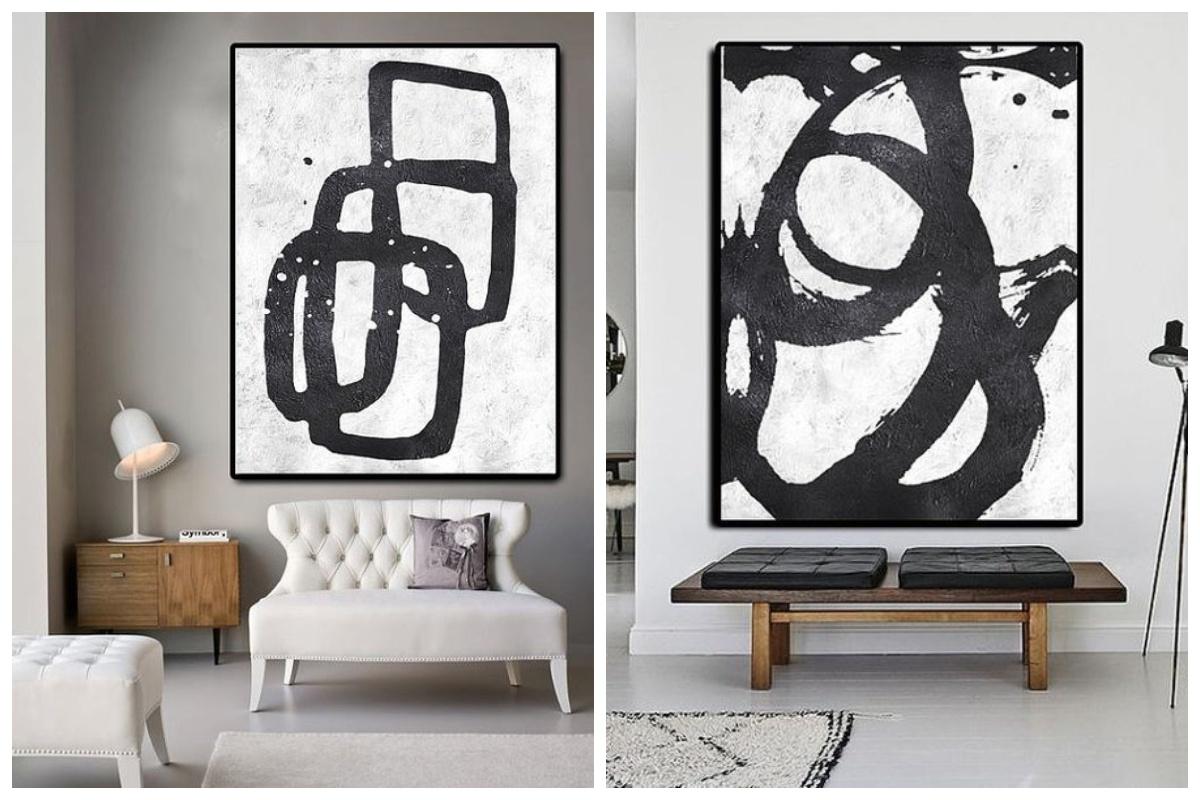 Duży obraz abstrakcja