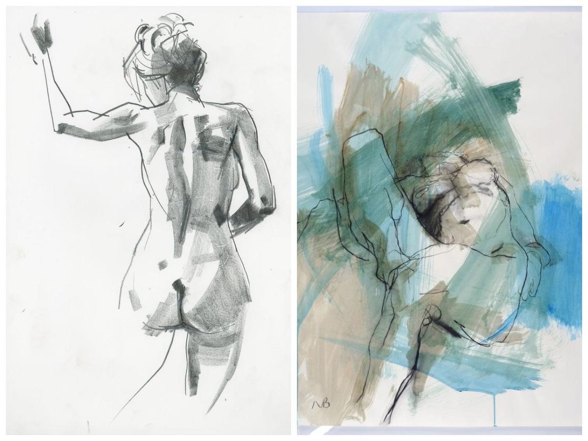 Akt kobiecy sztuka współczesna