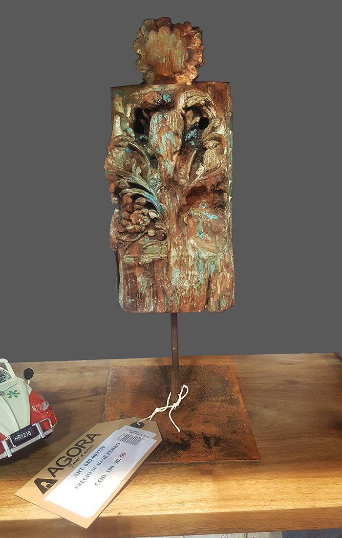 Figurka ozdobna drewniana Agora