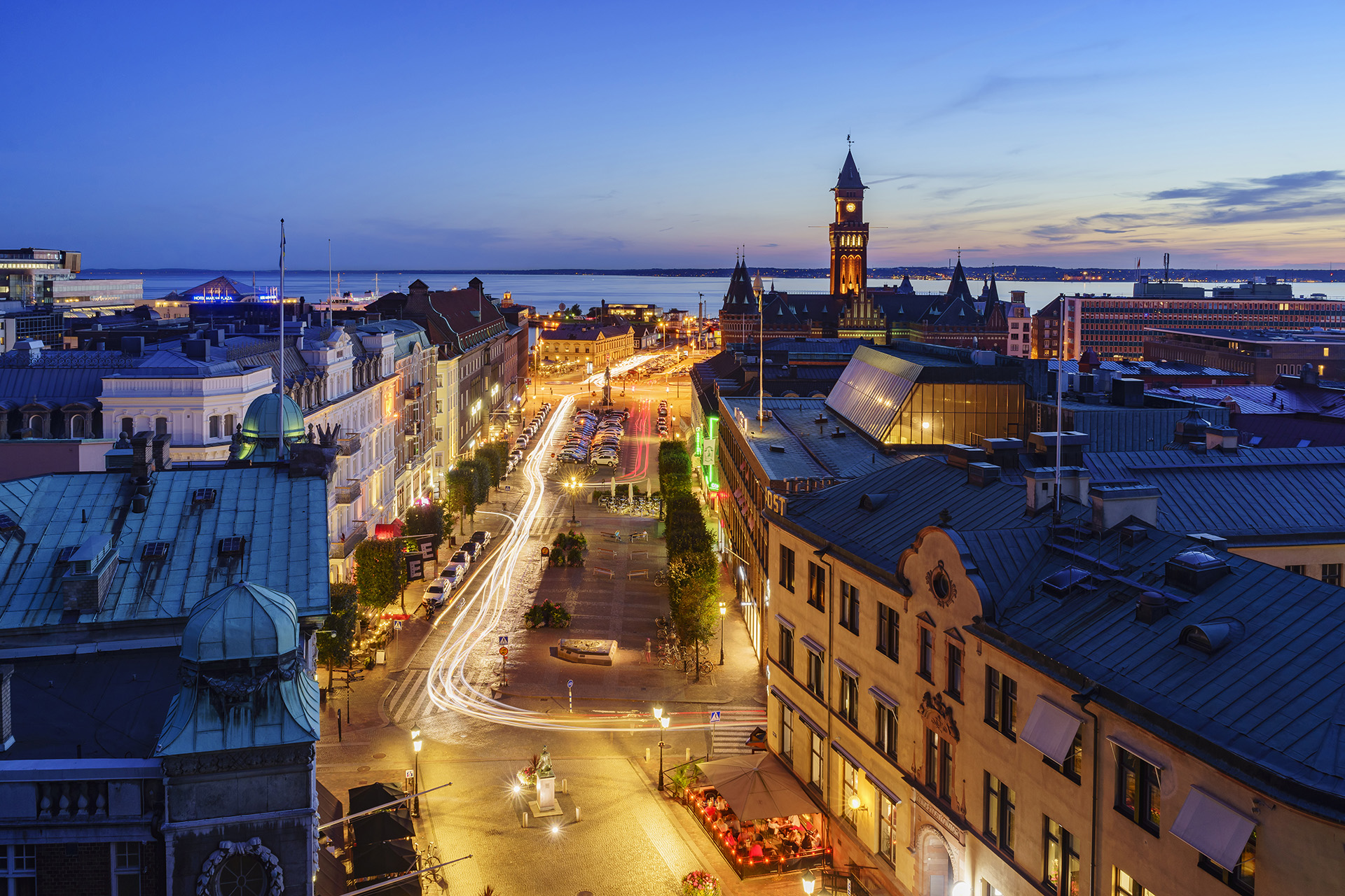 Biały apartament Helsingborg Szwecja