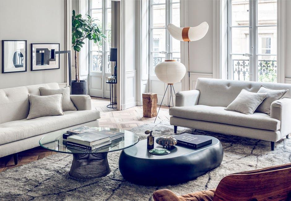 Eklektyczny apartament z francuskim klimatem