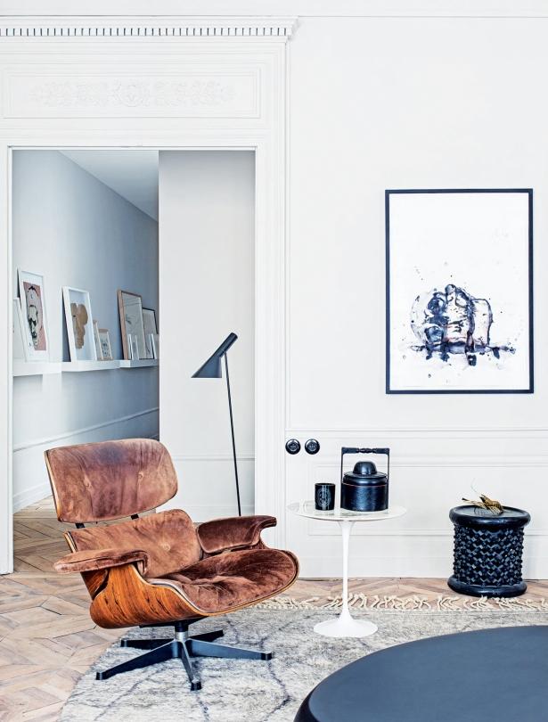 Fotel Eames zainspirowany Lounge Chair