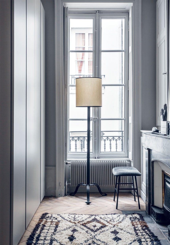 Siedzisko Living Divani we francuskiej sypialni
