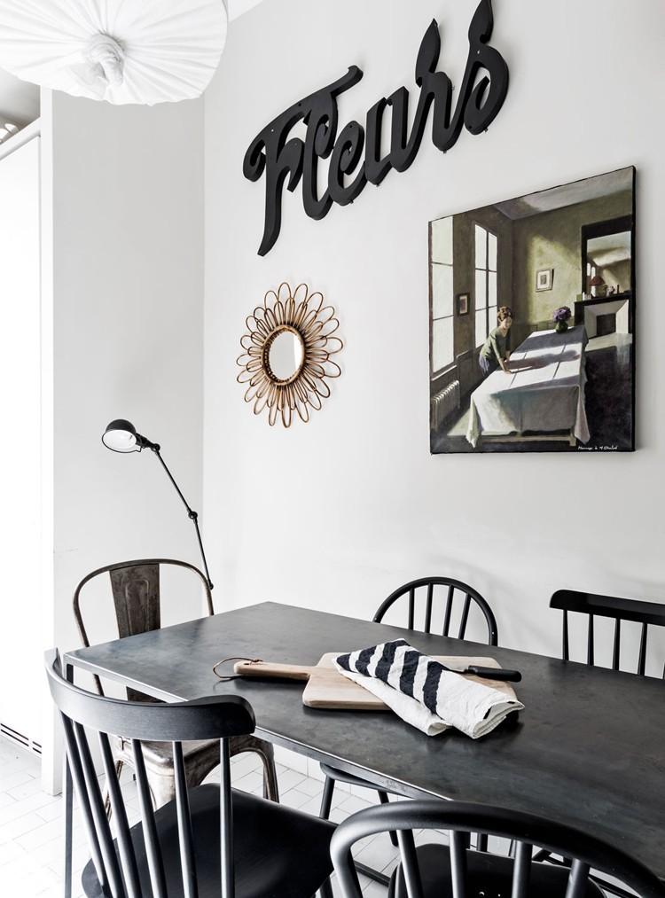 Dekoracje na ścianie w kuchni