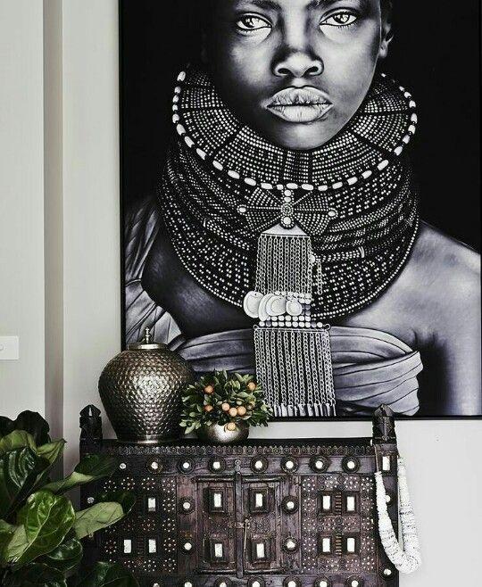 Dekoracje w stylu afrykańskim