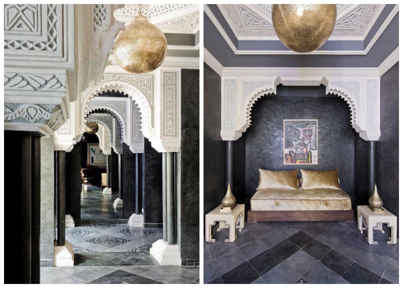 Nowoczesne marokańskie wnętrze