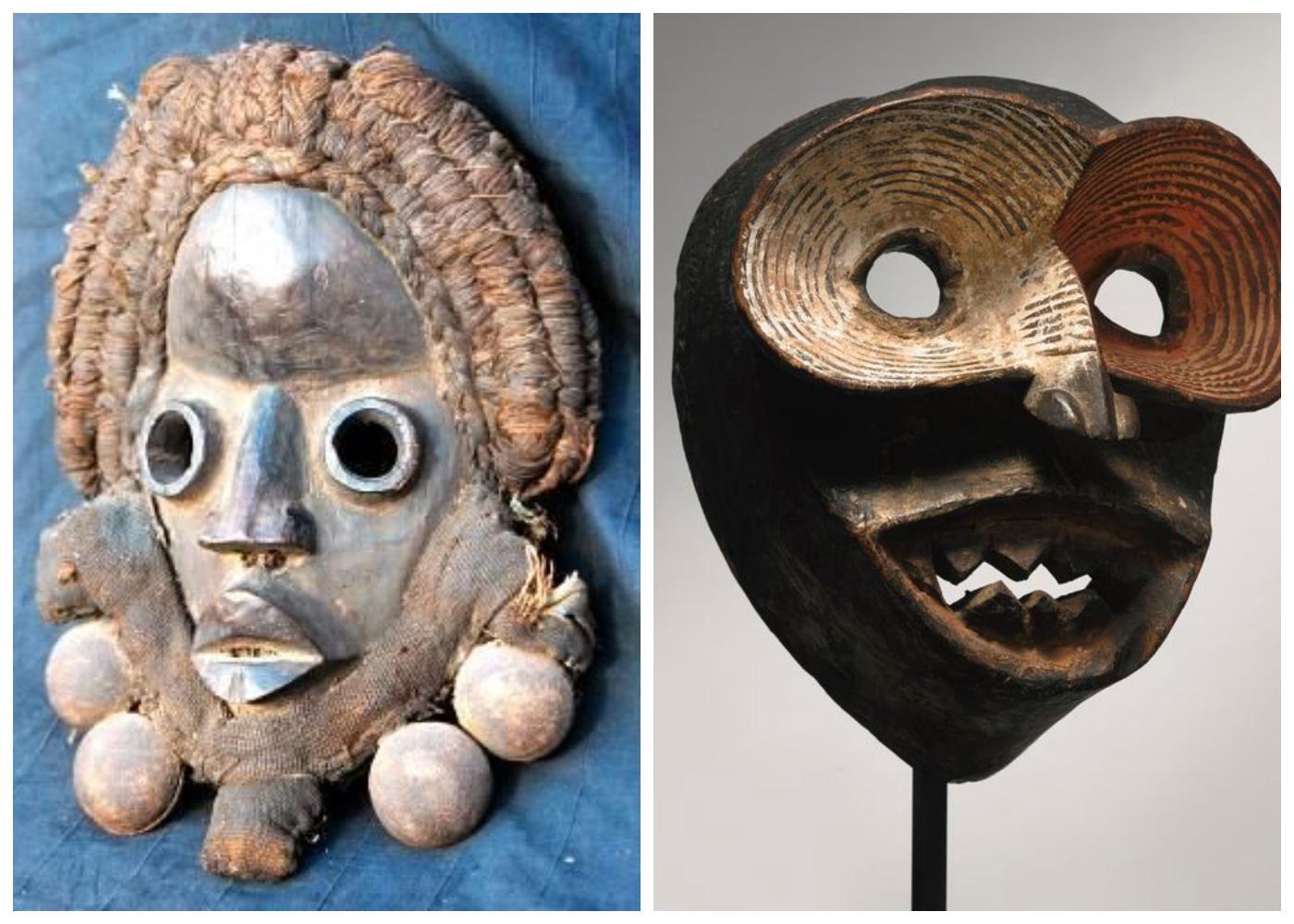 Kamienne maski nigeryjskie