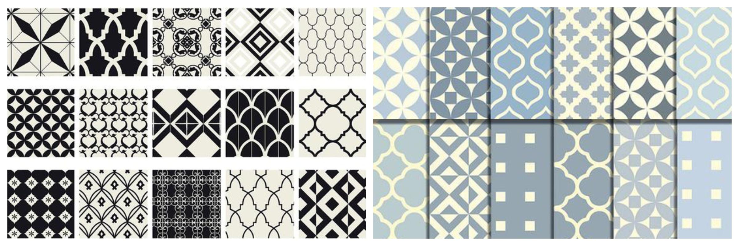 Marokańskie wzory na tkaninach