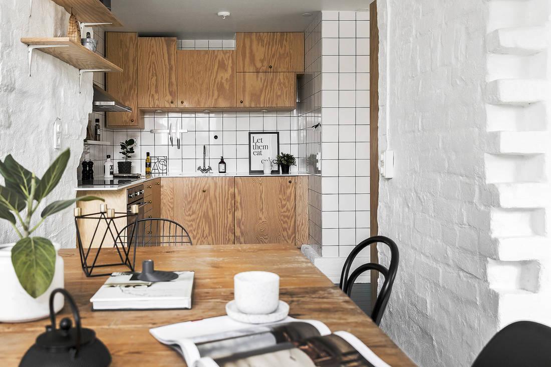 Kuchnie drewniane nowoczesne