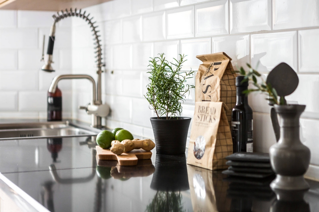 Dekoracja blatu kuchennego