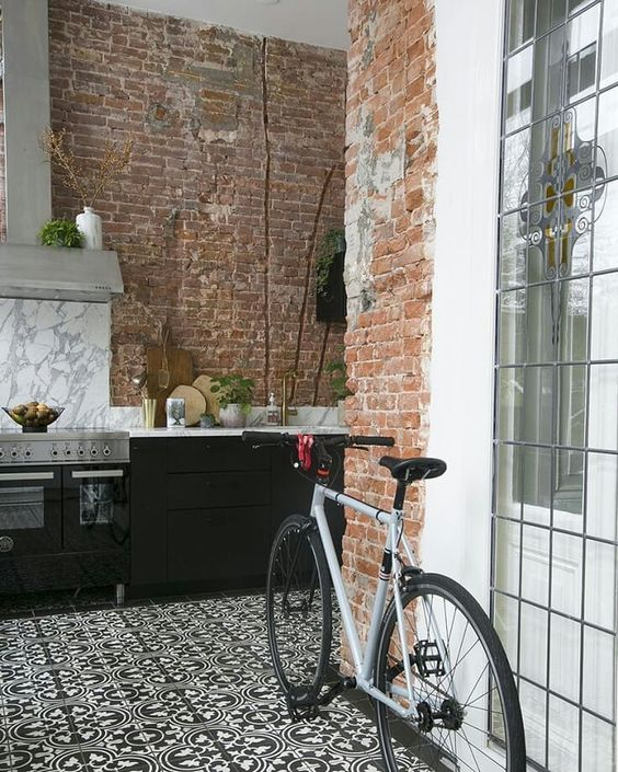 Rower jako dekoracja