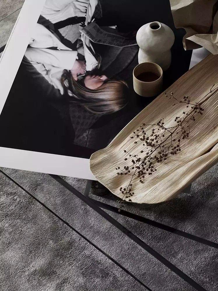 Taca drewniana design