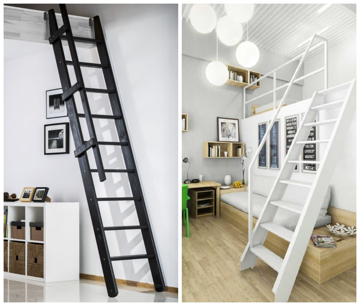Młynarskie schody na półpiętro