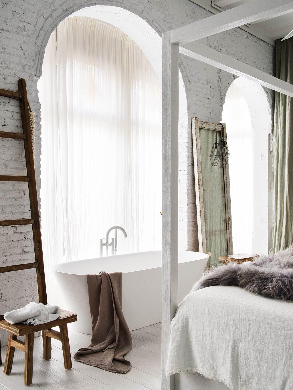 Sypialnia z wanną