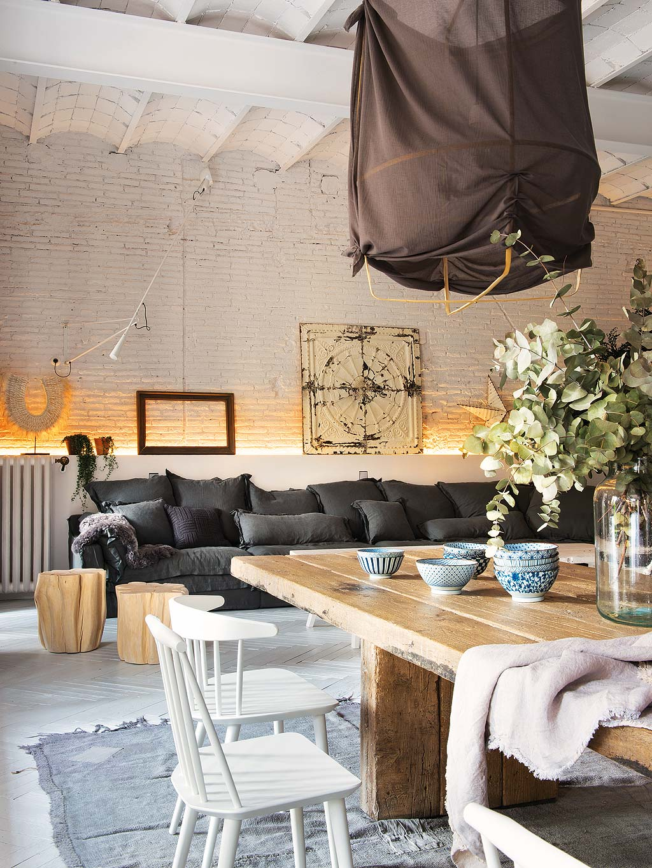 Salon z jadalnią