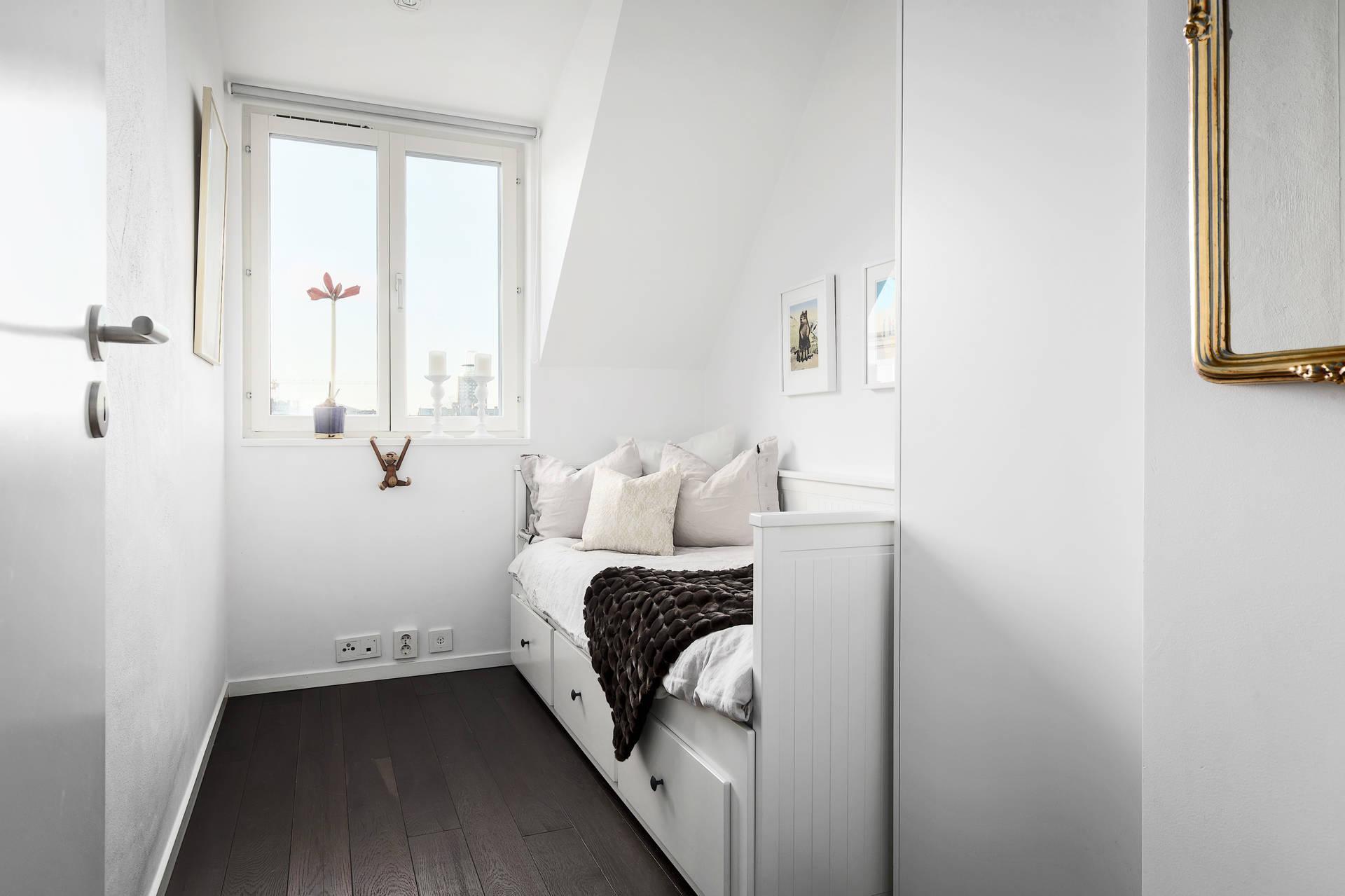Mały pokój ze skosami