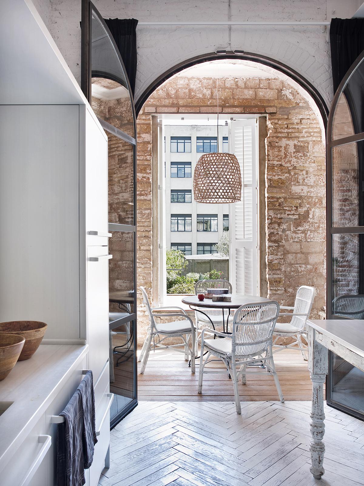 Kuchnia z patio