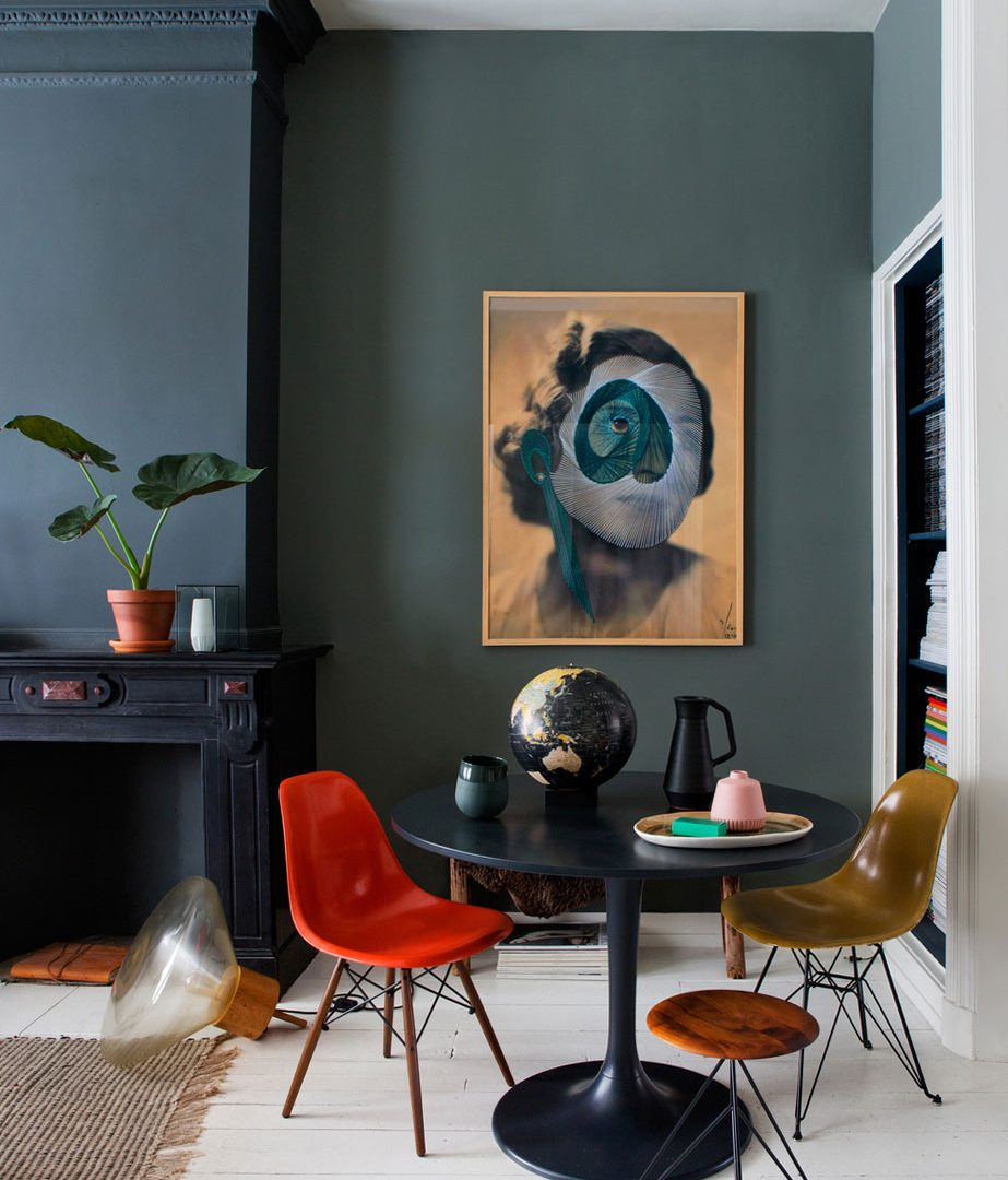 Eklektyczny apartament z nutką stylu vintage
