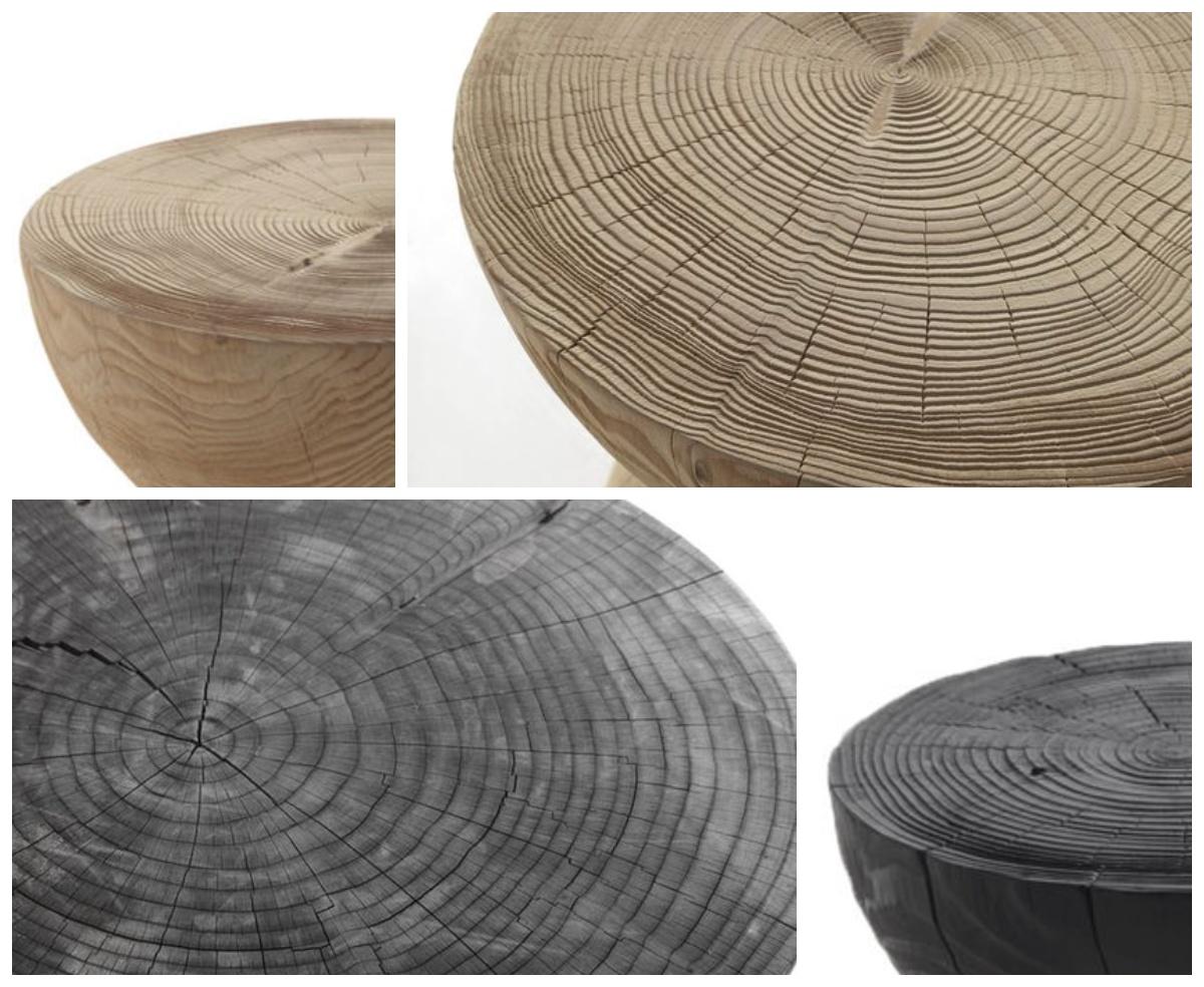 Skandynawskie drewniane stoliki
