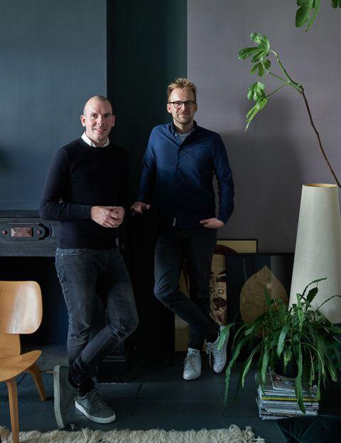 Theo-Bert Pot i Jelle Van de Schoor