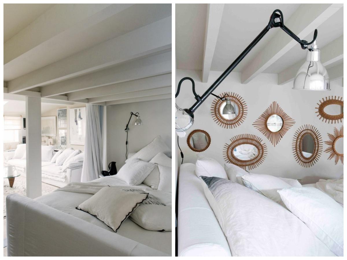 Sypialnia pod antresolą