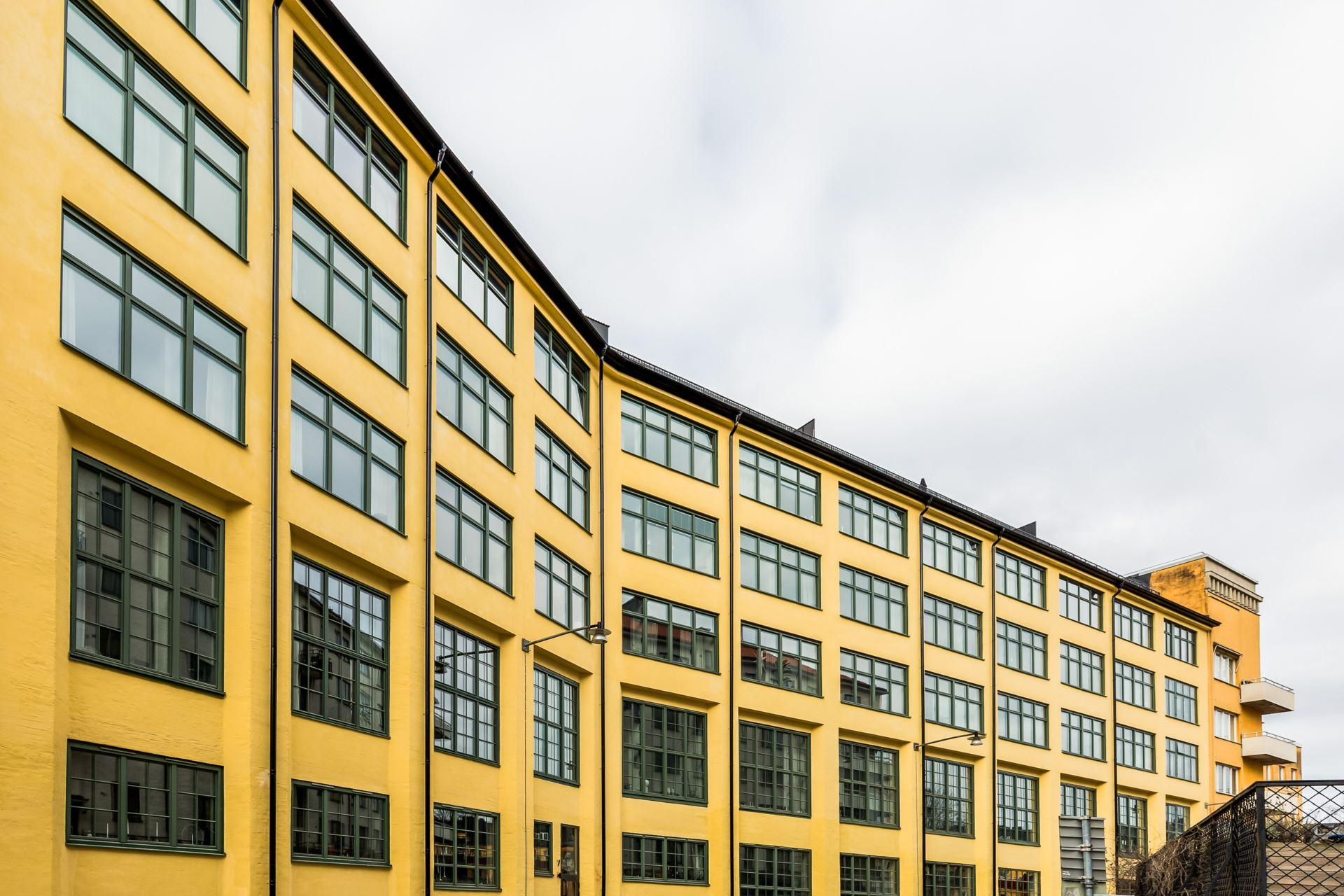 Industrialny budynek mieszkalny
