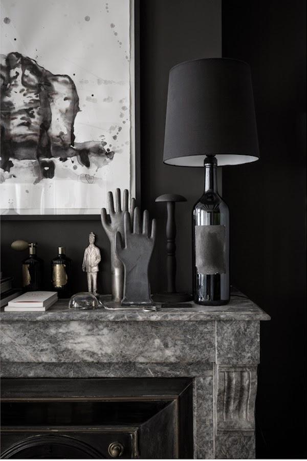 Dekoracja kominka w stylu francuskim