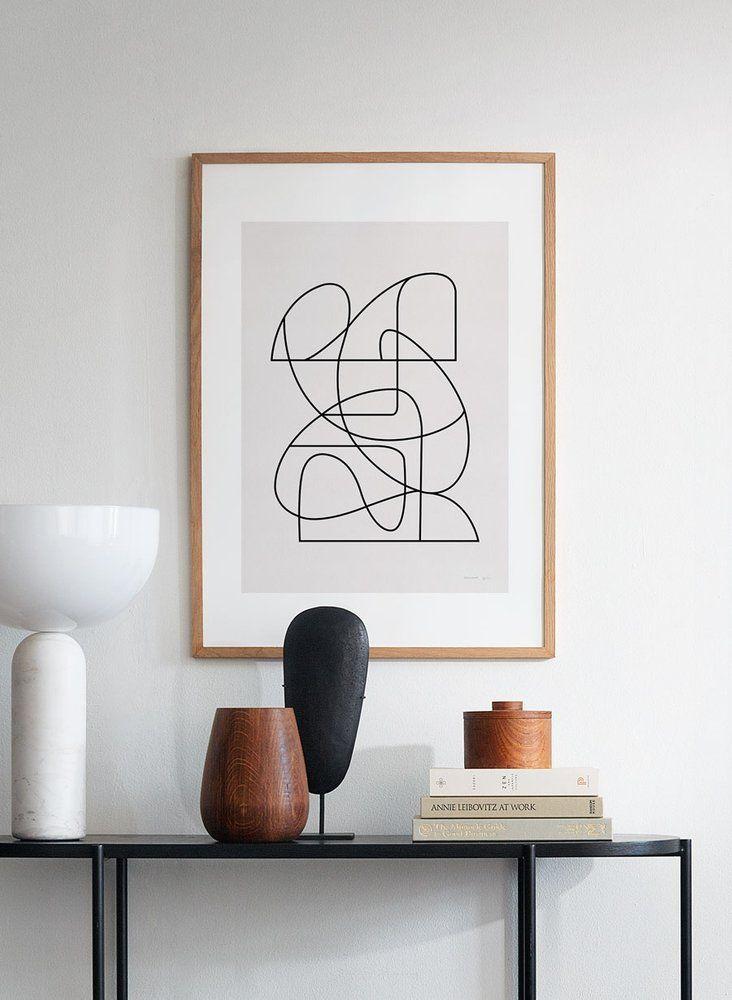 Sztuka jako dekoracja komody