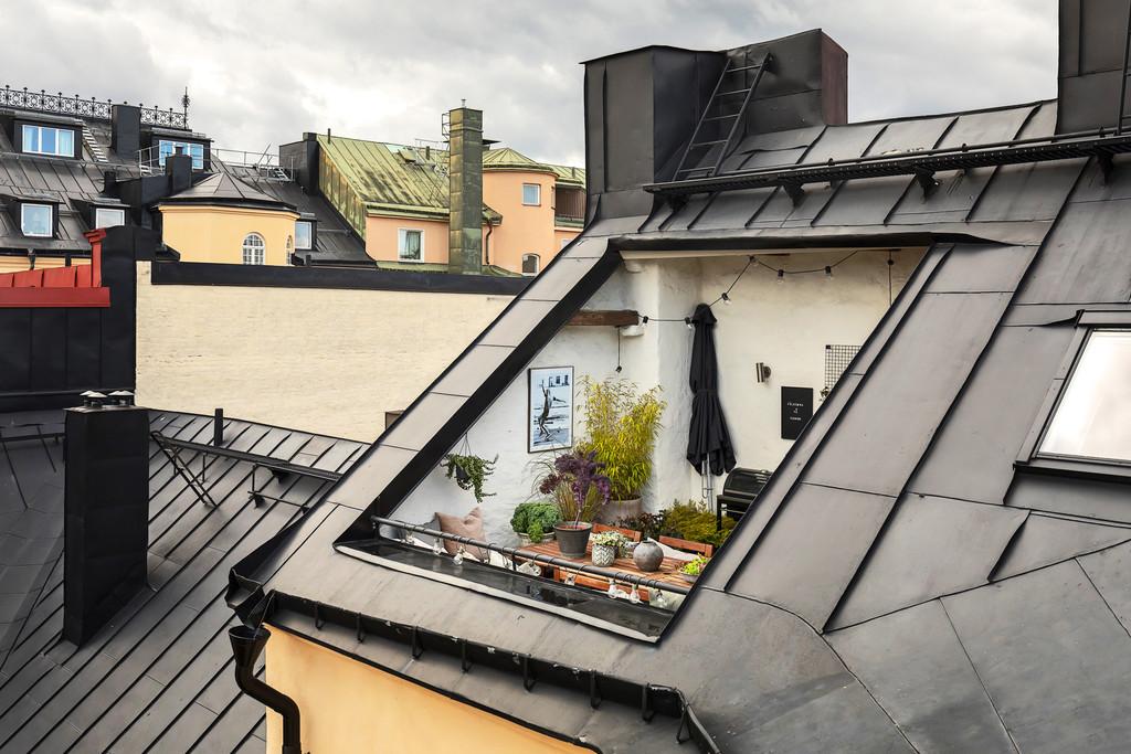 Taras w dachu
