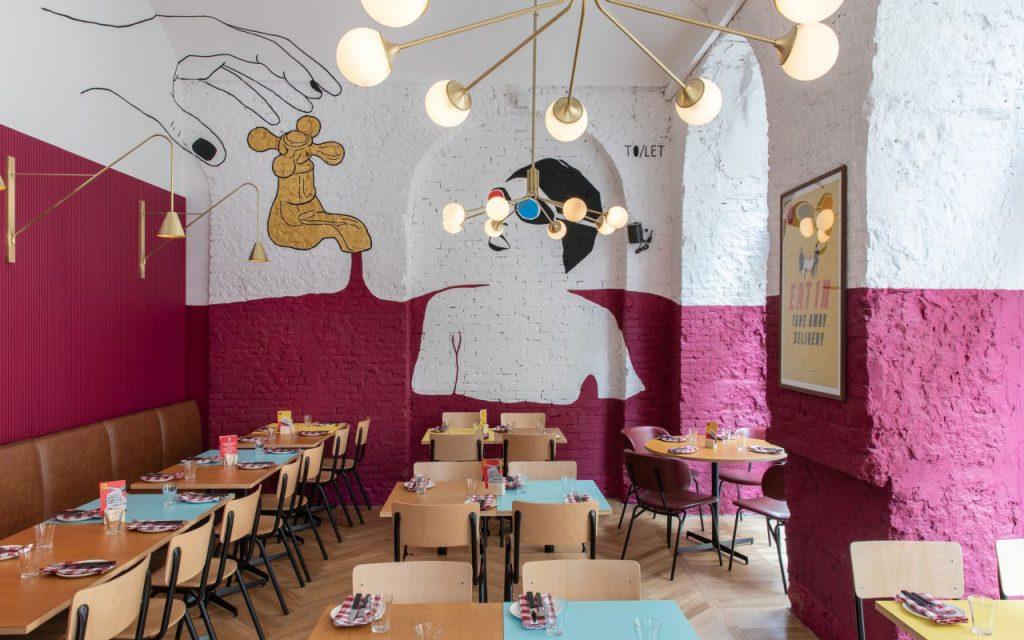 Pomysł na wnętrze restauracji