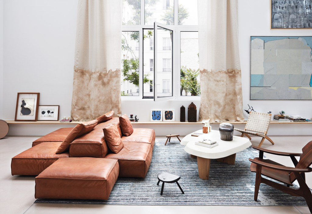 Designerski salon vintage modern